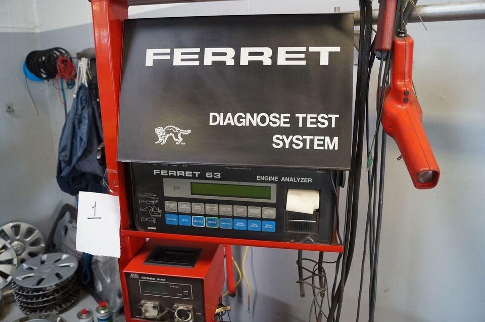 Bil Motor tester