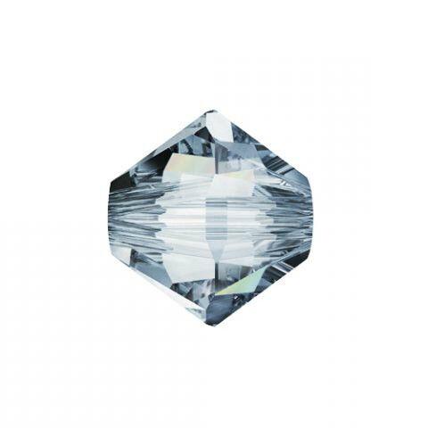 48 pc BRONZE SHADE 2X 4mm Swarovski Crystal Bicones #5328 XILION