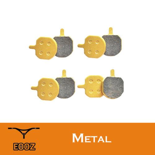 New 4 PRS METAL Metallic bicycle DISC BRAKE PADS for Hayes Sole MX2 MX3 MX4 MX5