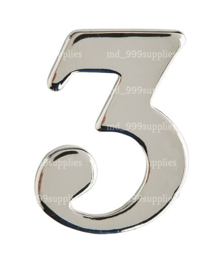 NEW Police Chrome Numbers Pin Back 0-9 Epaulettes Uniform ID Collar Number