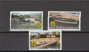 Sg1910-1912 Mnh 1986 Hotels Durable In Use Togo Hospitable A117