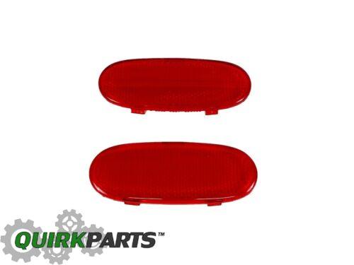 DODGE RAM 1500 2500 3500 DURANGO Front Door Panel Reflector Set of 2 OEM MOPAR