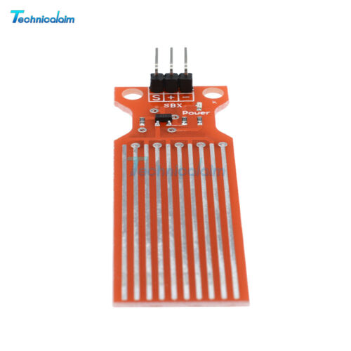 2pcs Rain Water Sensor Water Level Sensor Module Depth of Detection for Arduino