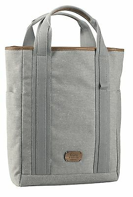 House of Marley BM-FT001-SD Lively Up Leather Small Tote - Saddle
