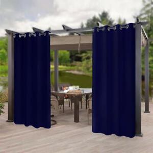 Indoor Outdoor Patio Curtain Panel