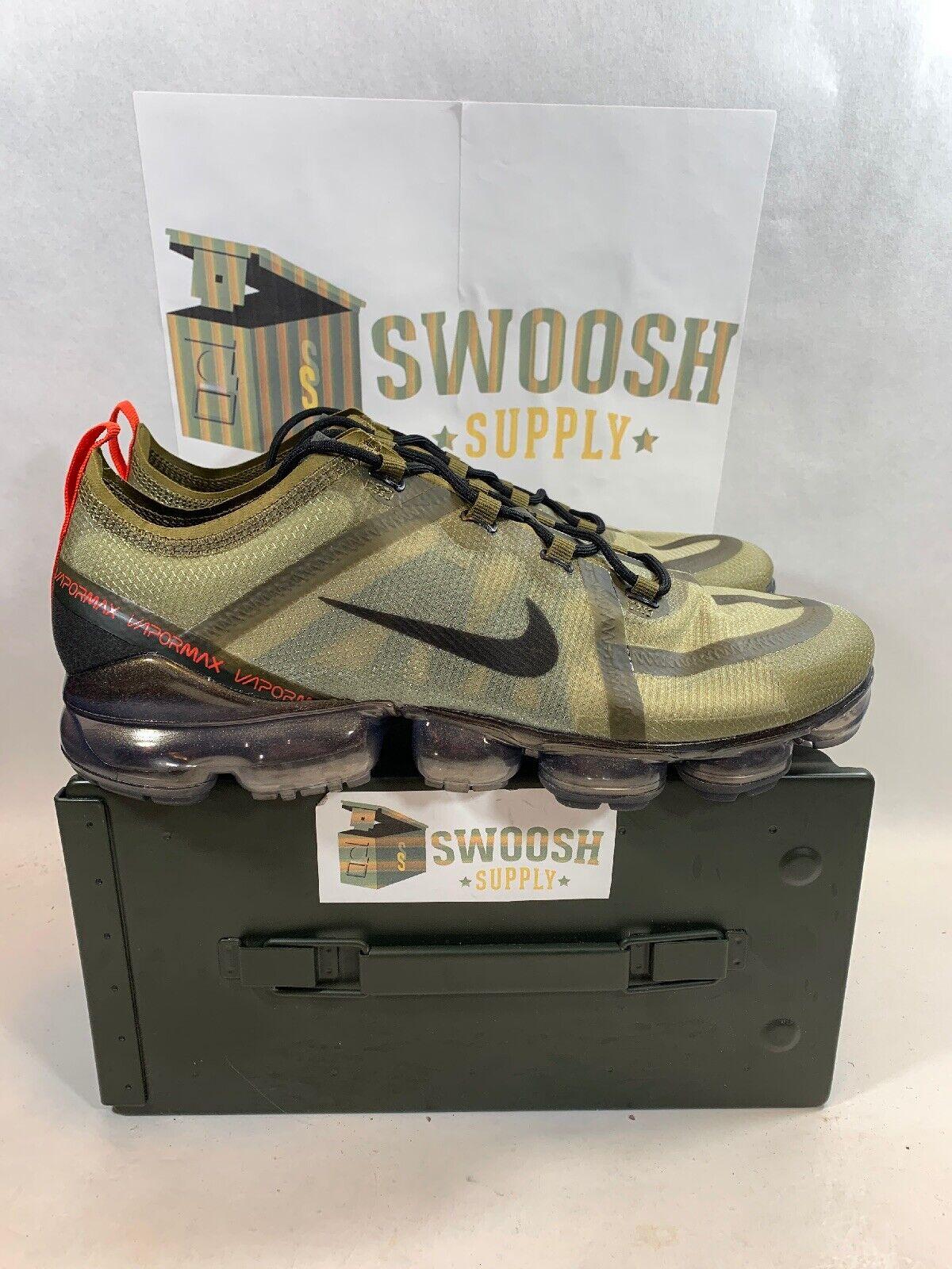 pick up d8ec0 99c72 Nike Air Vapormax 2019 Olive Flak Medium Black New Men s Men s Men s 11.5  AR6631-301