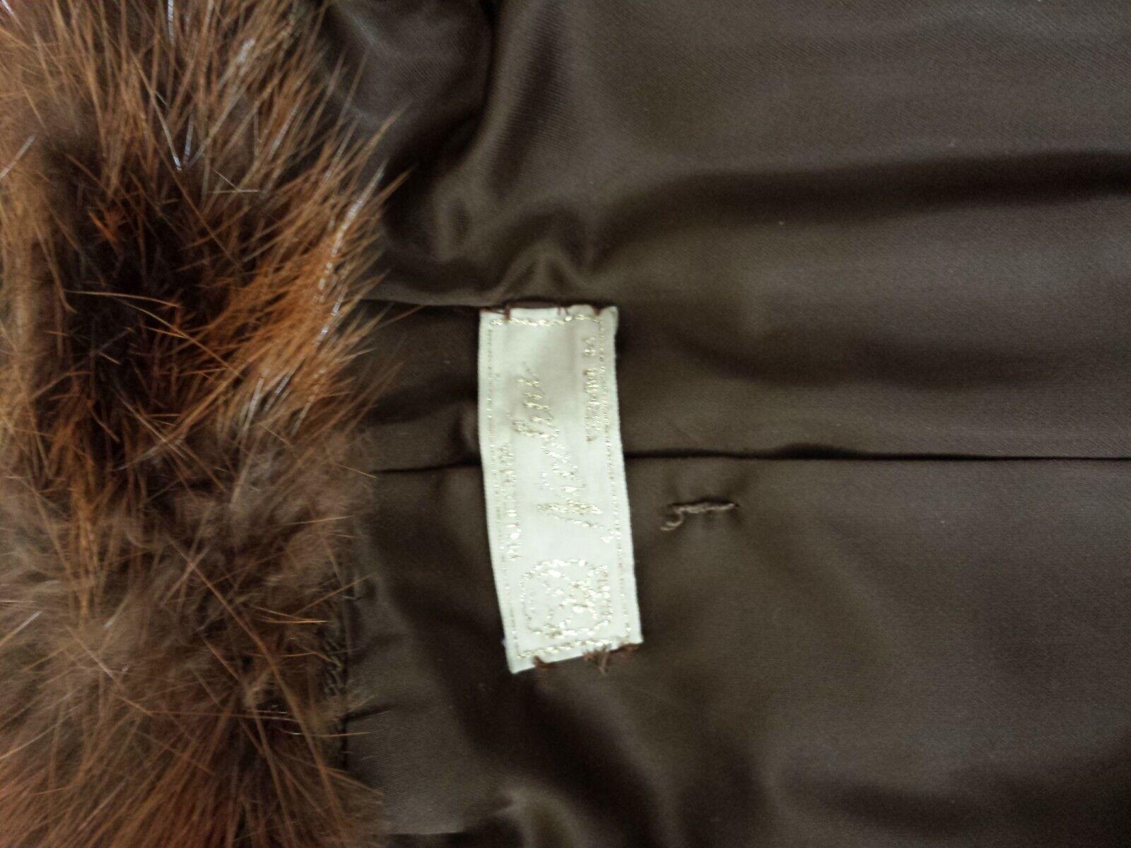 PELLICCIA VERO CASToro Giaccone   cappottino  anni 70 70 70 made in italy 8bec6b