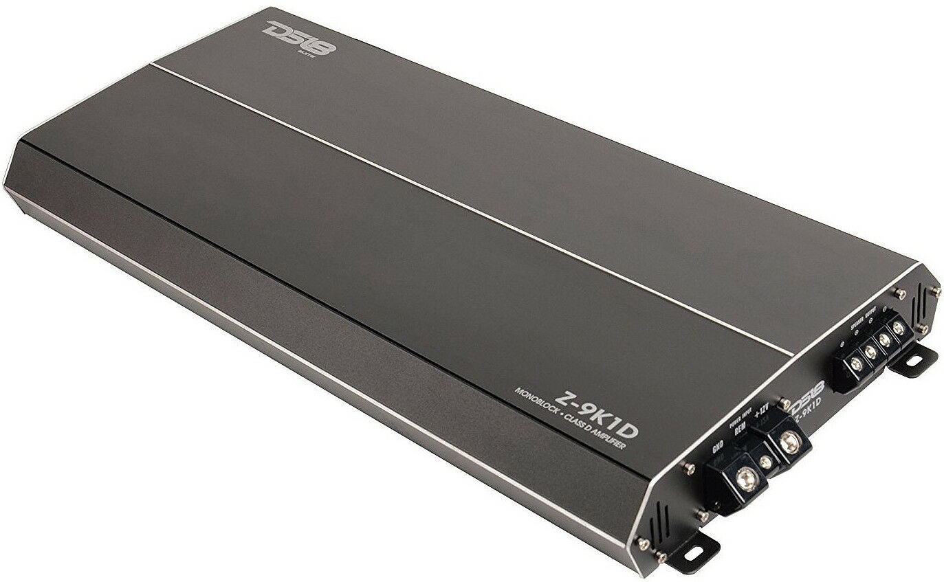 DS18 Elite Z-4.5K1D Monoblock Car Subwoofer Amplifier 4500W Max Mono Sub Amp