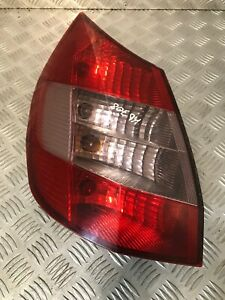2004-RENAULT-SCENIC-MPV-PASSENGER-LEFT-REAR-LIGHT-8200127704E