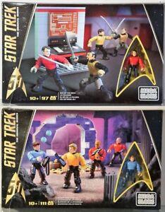 Mega Bloks-OVP-Matt<wbr/>el Aussuchen: Star Trek DPH79, DPY05