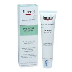 Eucerin Pro Acne Solution A.i Acne & Blemish Treatments Health & Beauty Clearing Treatment Removal Acne Oily Control 40ml Pure White And Translucent