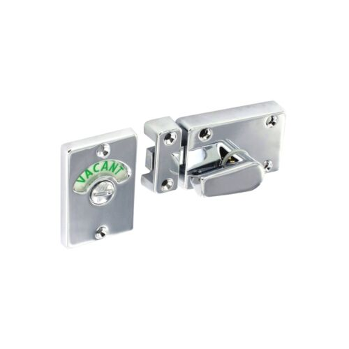 INDICATOR BOLT Toilet Bathroom WC Facility Door Lock Privacy Red//Green