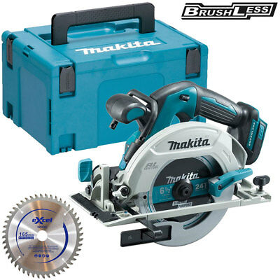 Makita DHS680Z 18V Brushless Circular Saw With Case 1 x 165mm Blade Inlay