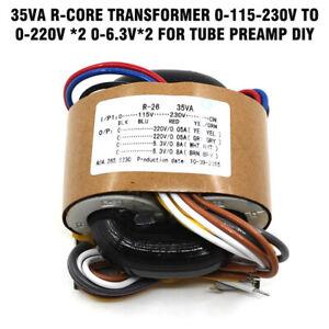 35VA-R-core-transformer-0-115-230V-to-0-220V-2-0-6-3V-2-for-tube-preamp-DIY