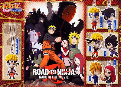 Bandai NARUTO Shippuden Road to Ninja The Movie 10th Ver Phone Strap Figure