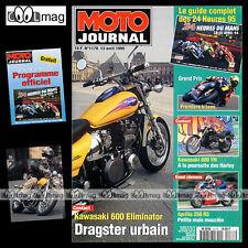 MOTO JOURNAL N°1178 APRILIA RS 250 ★ KAWASAKI 600 ELIMINATOR ★ 24 H DU MANS 1995