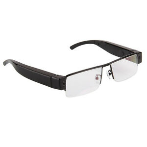 New 1080P HD Camcorder Glasses Camera DVR Digital Video Eyewear Camera Audio Cam
