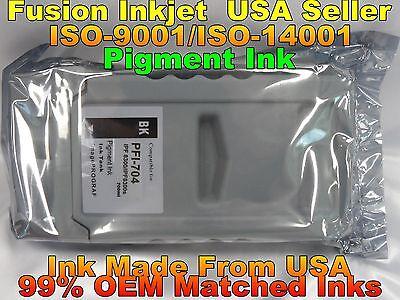 Compatible Cartridge canon PFI-704 C Cyan Pigment Ink ipf 8300 ipf 8300s xcb