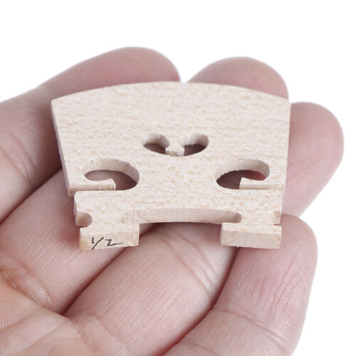 4Pcs Violin Bridge1//2 1//4 1//8 1//10 1//16 Full Size Maple Wood Brand Super 0ZJP