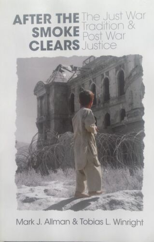 1 of 1 - After The Smoke Clears, The Just War... By Allman & Winright, VG~P/B  FREE POST