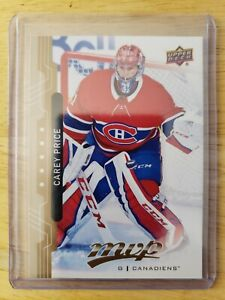 18-19-UPPER-DECK-MVP-HIGH-SERIES-SP-206-CAREY-PRICE-MONTREAL-CANADIENS