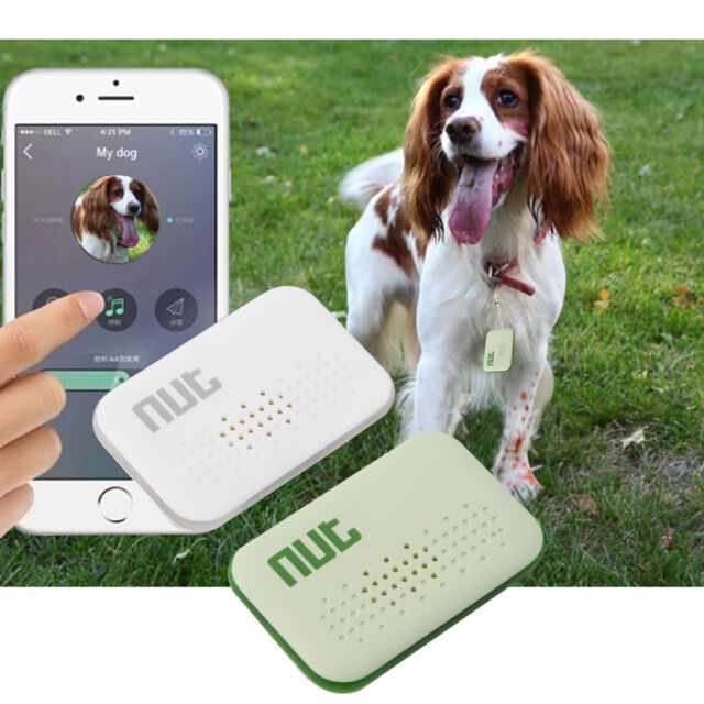 Nut Mini Smart Tag Bluetooth Tracker Child Pet Key Finder Anti-lost GPS BG D#