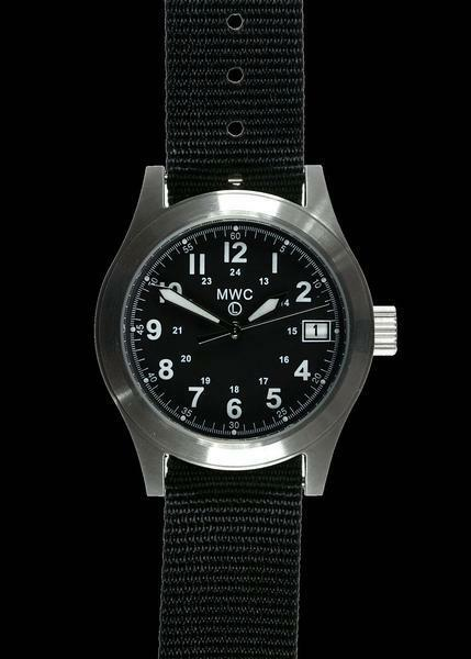 MWC Classic 100m Water Resistant General Service Watch with 24 Jewel Automatic