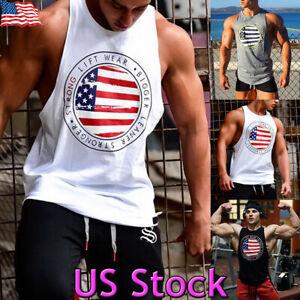 Mens Camo Sports Slim Fit Vest Tank Tops Gym Bodybuliding Sleeveless Skinny Tee