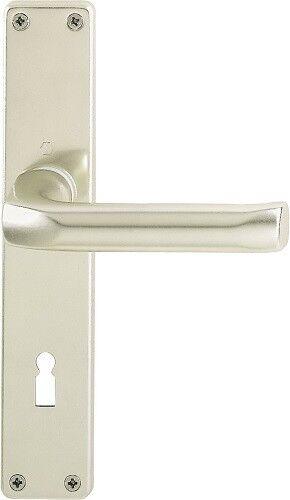 Hoppe London Langschildgarnitur BB Ausführung Aluminium Neusilber 113//202SP