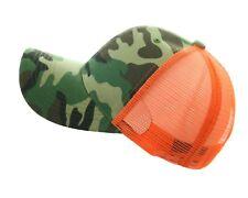 Baseball Cap Mesh Trucker Snapback Military Army Hunting Hiking Hip Hop GYM  Hat 6e33f024352f