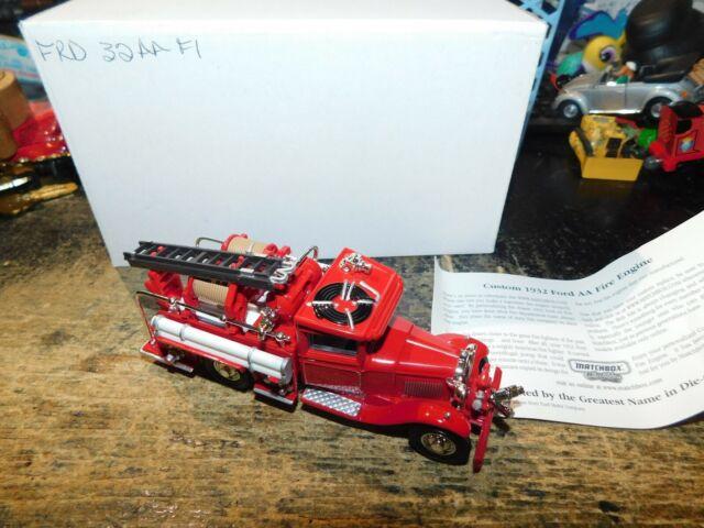 diecast fire engine models