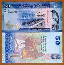 Sri Lanka, 50 Rupees, 2010,  P-124, UNC > Colorful