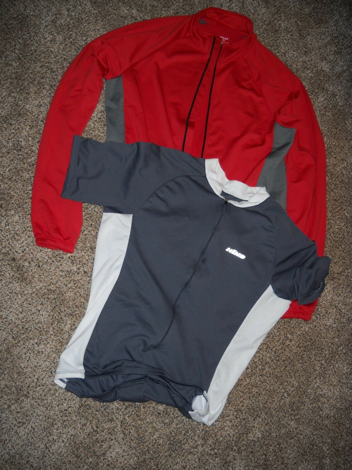 TWO Hind Cycling Jerseys-Large Mens