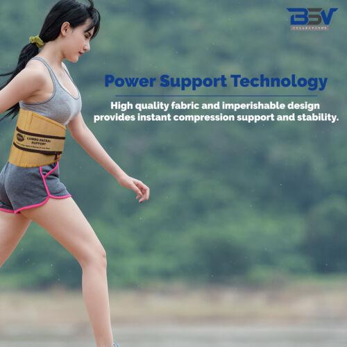 S//M//L//XL//XXL Skin by BSV Perfect Lumbar Support Belt Lumbosacral Back Brace