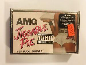 AMG-Jiggable-Pie-1991-CASSETTE-SINGLE-New-SEALED-DJ-QUIK-2nd-II-None-Suga-Free