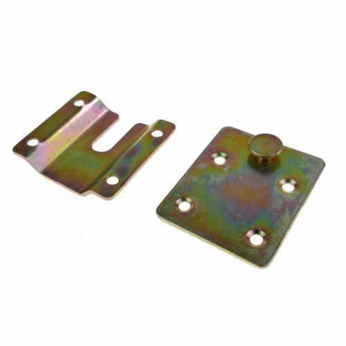 Steckverbinder Möbelverbinder Bettverbinder Couchverbinder Metallverbinder 9-06