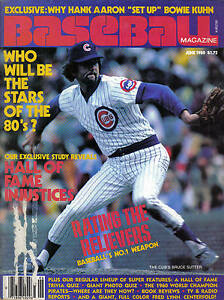 1980-June-Baseball-Magazine-Bruce-Sutter-Chicago-Cubs-Good