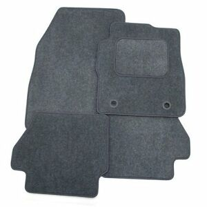 Perfect-Fit-Grey-Carpet-Car-Floor-Mats-Set-for-Saab-9-3-1998-2003-Convertible