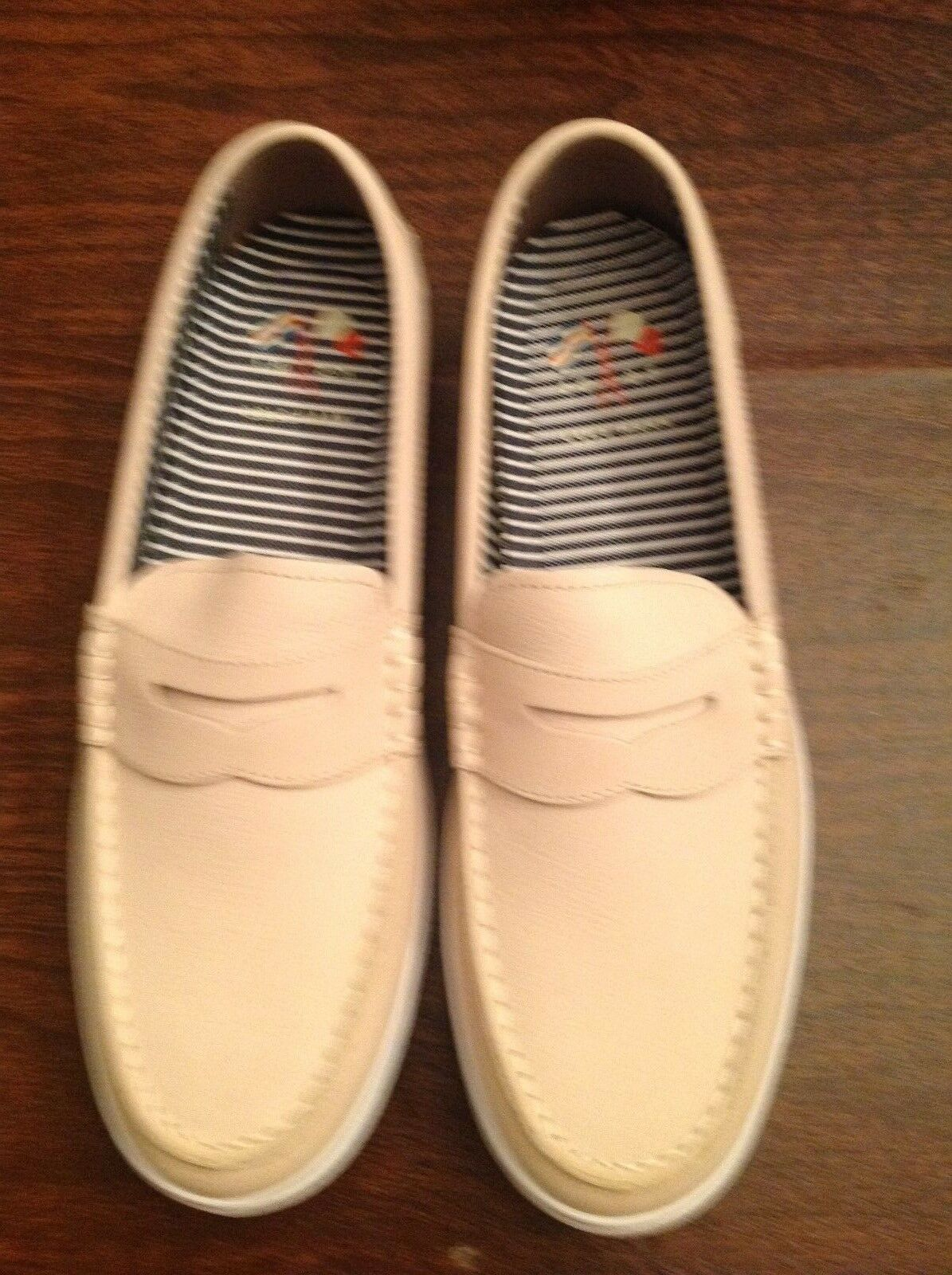 Cole Haan Men's Nantucket II Light Tan Leather Loafers  Size: 11.5M  New in Box