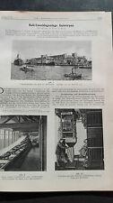 1928 43 Antwerpen Hafen Kali-Umschlag-Anlage