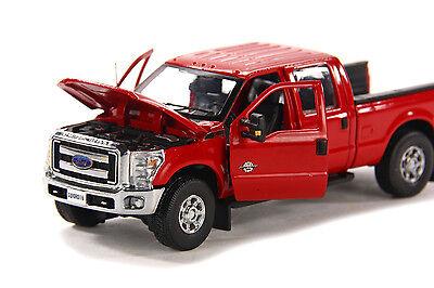 """1//50 6 ft Lit Ford F250 Camionnette-Crew Cab /""""Rouge/"""" environ 1.83 m épée #SW1200RC"""