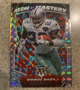 2020 Mosaic Football Emmitt Smith Men Of Mastery Prizm Dallas Cowboys