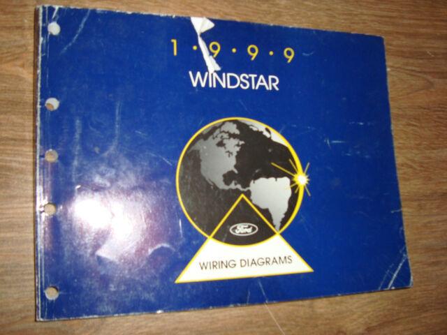 1999 Ford Windstar Wiring Diagrams Manual Mwi