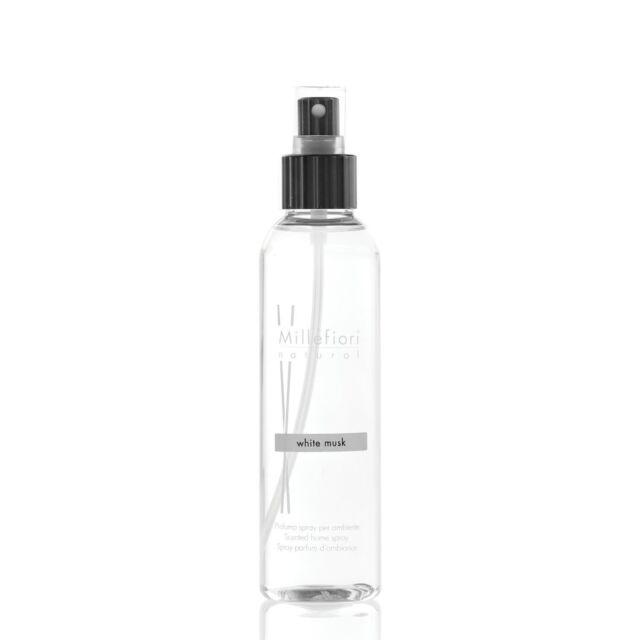 MILLEFIORI Natural New Home Spray Ambiente150ml WHITE MUSK (MUSCHIO BIANCO 7SRMB