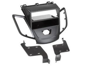 FORD FIESTA MK7  Auto Radio Blende Einbau Rahmen 1-DIN 2-DIN Doppel-DIN schwarz