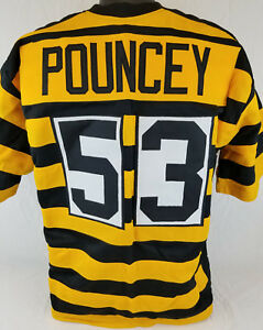 Details about Maurkice Pouncey Unsigned Custom Sewn Bumblebee Football Jersey Size- L, XL, 2XL