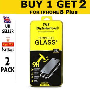 100-ORIGINAL-Protector-de-pantalla-Cristal-Templado-para-Apple-iPhone-8-Plus