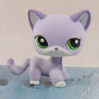 "LPS PRESCHOOL LITTLEST PET SHOP Lilac cat kitty FIGURE 3"""