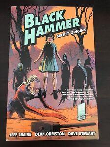 Black-Hammer-Secret-Origins-vol-1-TPB-Jeff-Lemire-Dark-Horse-NM-Unread