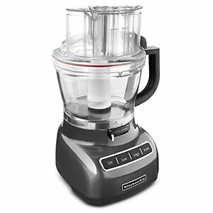 Kitchenaid 11 Cup Wide Food Processor Rr Kfp1133qg Exact Slice